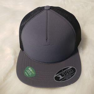 Port Authority Foam Outdoor Gray Trucker Hat